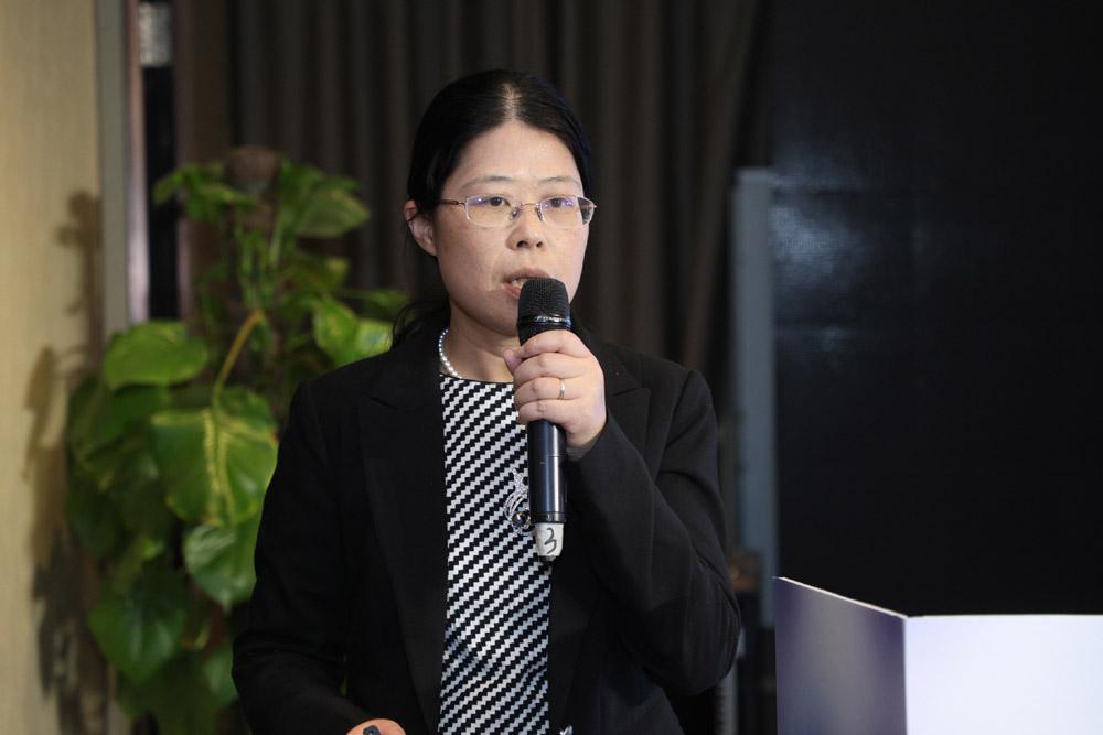 罗氏诊断生命科学与组织诊断事业部市场总监殷俊女士